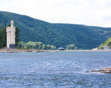 Binger Mäuseturm - Quelle -Tourist Information Bingen am Rhein