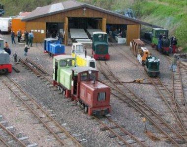 Feldbahn 4 - Quelle -  Campingpark Lindelgrund