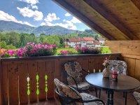 Ferienwohnung Grüntenblick - Balkon