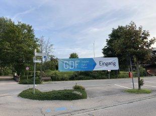 Eingang zum GDF (c) Gastgeber Digitalforum
