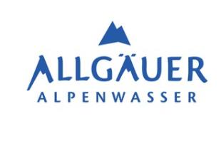 Logo Alpenwasser (c) Allgäuer Alpenwasser