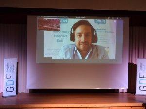 Stefan Rehm von onlim digital am GDF (c) Gastgeber Digitalforum