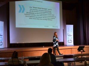 Vanessa Borkmann vom Frauenhoferinstitut (c) Gastgeber Digitalforum