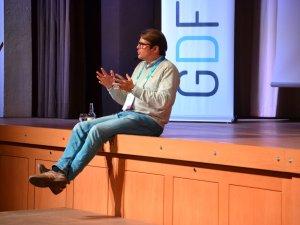 Dominik Sobotka als Speaker beim GDF (c) Gastgeber Digitalforum