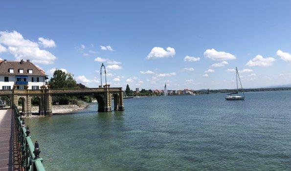 Uferpromenade von Friedrichshafen