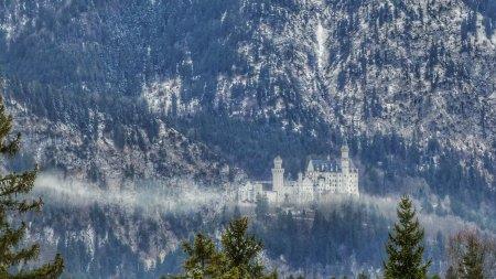 Das Märchenschloss Neuschwanstein bei Füssen