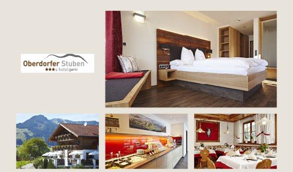 Oberdorfer Stuben - Collage Webseite