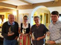 V.l. Michael Holzhey, Nicole Jastram, Doris Sansoni und Matthias Becherer