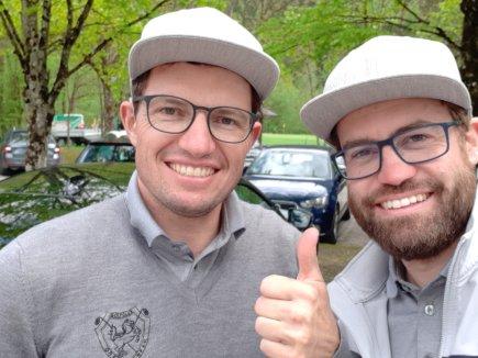 Matthias Becherer und Michael Fischer