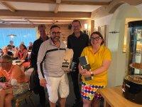 Die Bruttosieger Martin Sauter und Barbara Lacher