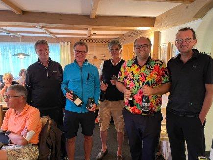 Sieger Netto B (v.l.): Laurent Mies, Dr. Martin Ries und Ronny Lacher