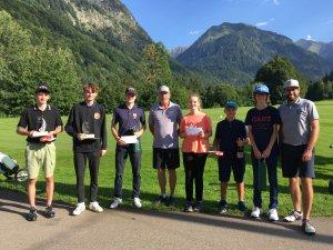 Die Teilnehmer der Jugendwertung