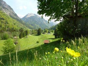 Sommer im Golfclub Oberstdorf