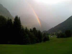 Farbenspiel im Golfclub Oberstdorf