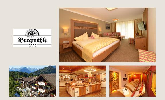 Burgmühle - Collage Webseite