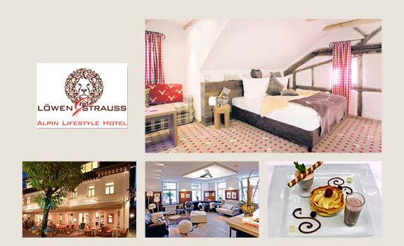 Löwen-Strauss - Collage Webseite