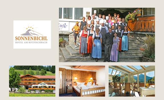 Sonnenbichl - Collage Webseite