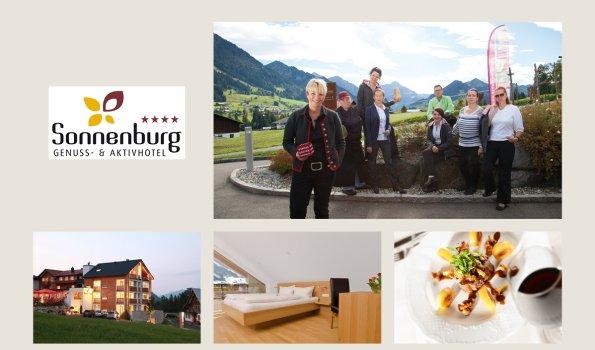 Sonnenburg - Collage Webseite