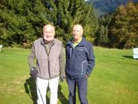 Die Vorjahres-Finalisten Micha Holzhey und Hans Koinig
