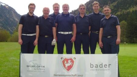 V.l. : Michael Fischer, Micha Holzhey, Karlheinz Brückner, Michael Schmidt, Jürgen Schwartges, Georg Späth und Martin Sauter