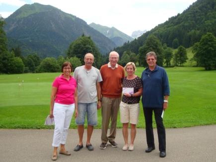 Die Sieger im Netto B: Cornelia und Wolfgang Brühl