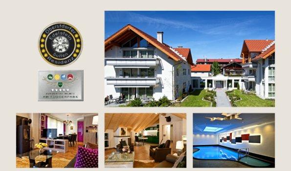 Residenz - Collage Webseite