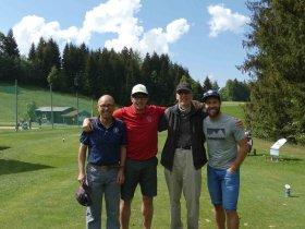 Das Siegerteam Alpenresidenz Steiner (v.l.) Bernhard Steiner, Matthias Becherer, Jo Claus und Benny Steiner