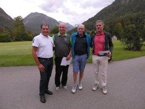 Zweiter im Netto A: Peter Geg vom GC Sonnenalp (re.)