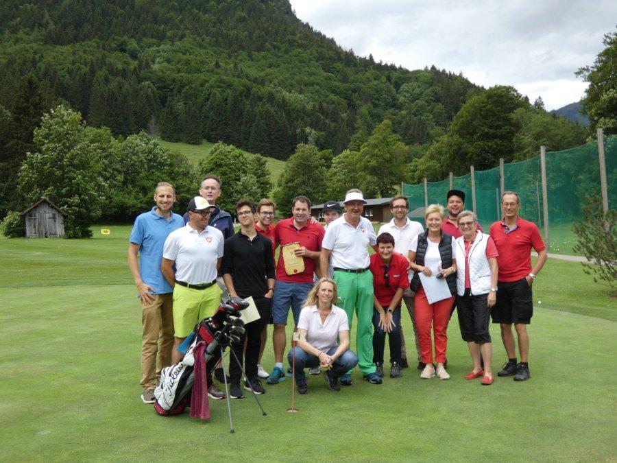 Die Teilnehmer des Tiger und Rabbit Turniers am 8. Juni 2018