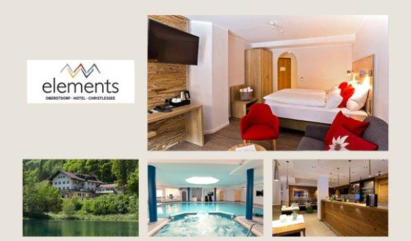 Elements - Collage Webseite