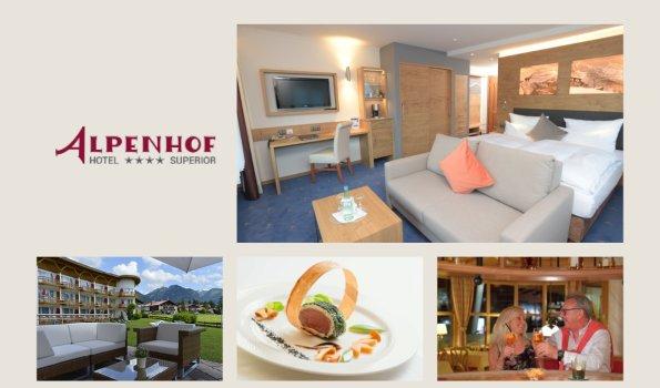 Alpenhof - Collage Webseite