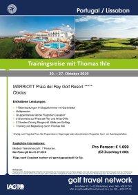 Golfreise Portugal 20. - 27.10.2019