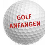 Banner Webseite Golf Anfangen