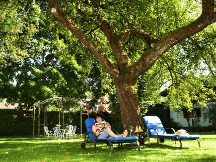 Entspannen im Geldernhaus Garten
