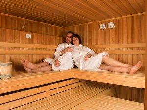 Die Sauna im Hotel Geldernhaus
