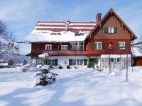 Hotel Garni Geldernhaus im Winterkleid
