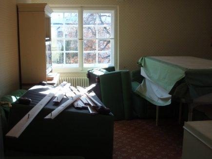 Möbel müssen aus- und eingeräumt werden