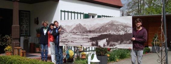 Das Geldernhaus Team heißt sein Oberstdorf Panorama willkommen