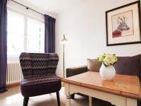 Wohnbereich Doppelzimmer Typ Burton