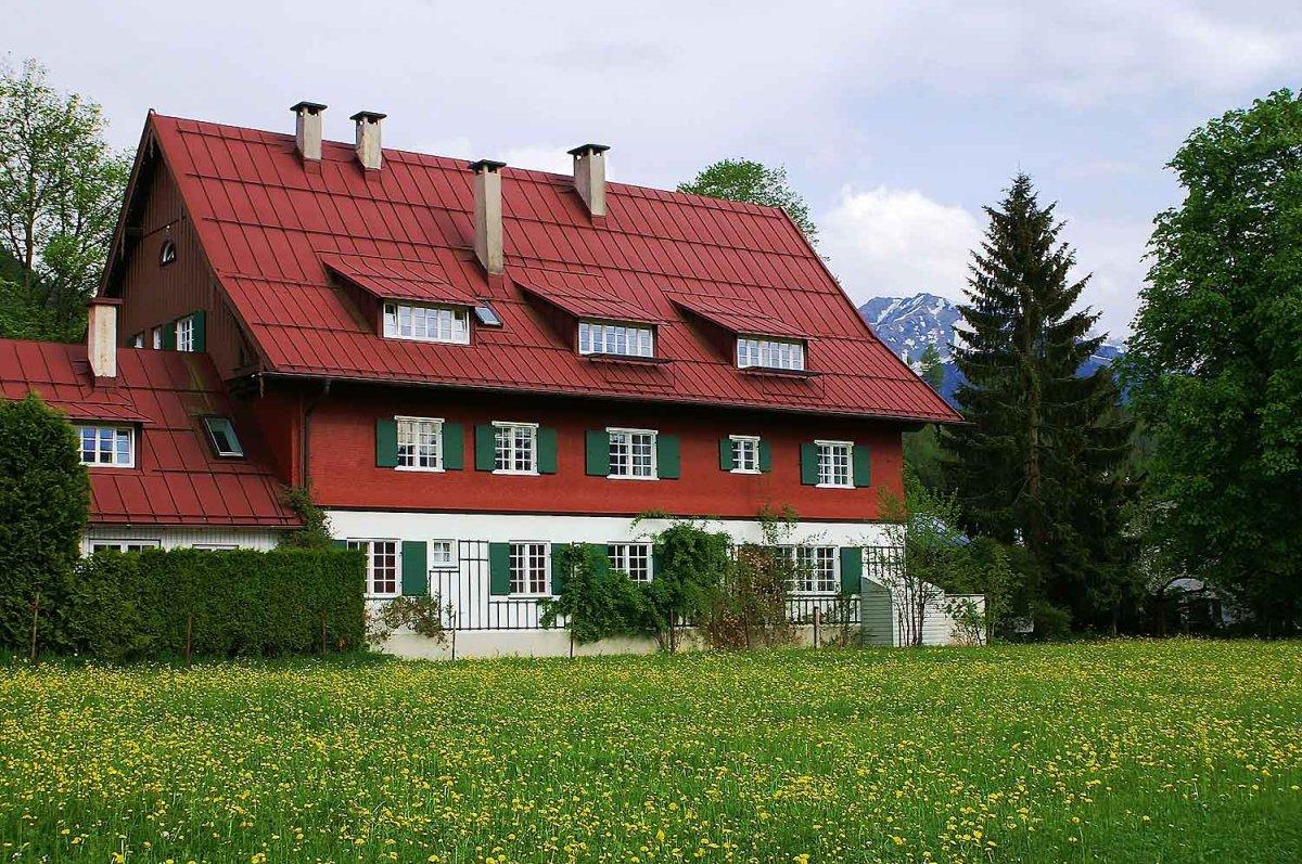 Hotel garni Geldernhaus im Sommer