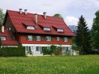 Hotel garni Geldernhaus im Frühling