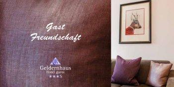 Geldernhaus Hotelinformation ab 2017 - Klein, fein und mit Stil