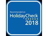 HolidayCheck Empfehlung 2018