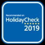 Holidaycheck: Auszeichnung 2019