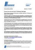 Pressemitteilung: Corona-Virus wird nicht durch Trinkwasser übertragen
