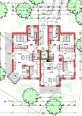 Grundriss Wohnung 2, Haus 1