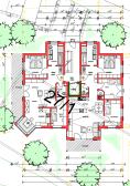 Grundriss Wohnung 8, Haus 2