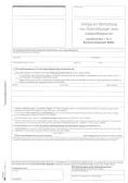 Antrag auf Einrichtung Auskunftssperren bzw. Ubermittlungssperren