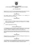 Beitrags- und Gebührensatzung zur Wasserabgabesatzung (BGS-WAS)