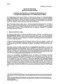 Modul 2: Bekanntmachung der Markterkundung